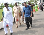 PIC.25. ASUU DELEGATION LEAVING THE NATIONAL ASSEMBLY AFTER A MEETING WITH JOINT COMMITTEE ON EDUCATION AND THE MINISTRY ON ASUU STRIKE IN ABUJA ON TUESDAY (9/7/13)