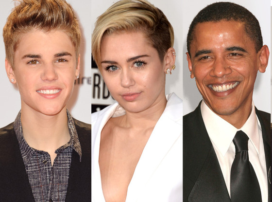 Think, that Justin bieber and miley cyrus