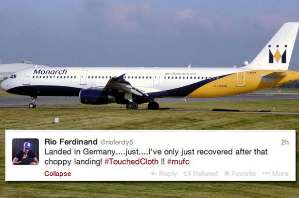 Rio Ferdinand tweeted about the incident