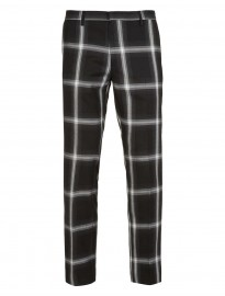 check trouser by topman