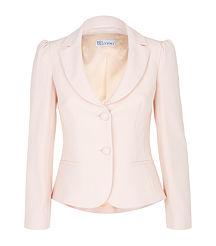pale pink jacket