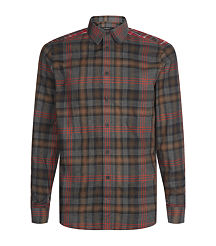 plaid givenchy men shirt