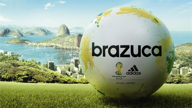 The Brazuca is the Official Ball For the Brazil 2014 w/cup