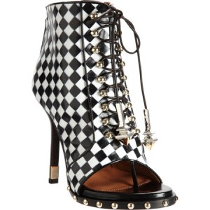 Givenchys-Check-Embossed-Lace-Up-Ankle-Boots-1
