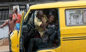 Lastma Official in Action, Photo Credit: Vanguard