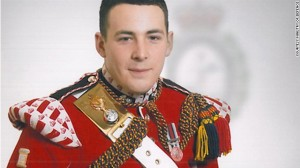 Drummer Lee Rigby, the soldier killed in the Wednesday, May 22, 2013 incident in Woolwich, South East London