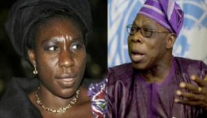 Obasanjo and Daughter | Photo Credit: www.africanspotlight.com/
