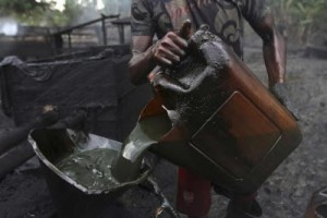 illegal refinery (Photo Credit: Ynaija)
