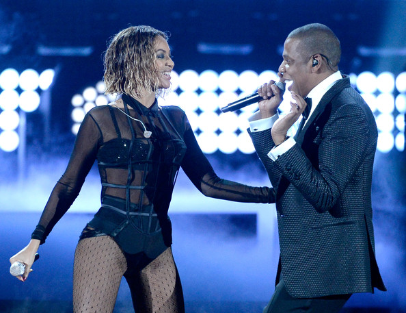 Grammy Magic! Photos Of Jay-Z And Beyonce Performing 'Drunk In Love'
