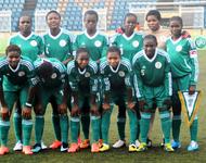 PIC.6.NIGERIA'S UNDER-20 WOMEN TEAM, THE FALCONETS