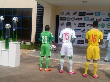 size 40 4a31b 256a5 So Cool! NFF Unveils New Home & Away Super Eagles World Cup ...