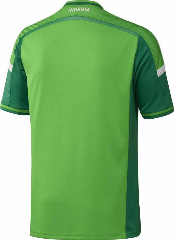 Nigeria 2014 World Cup Home Kit 1