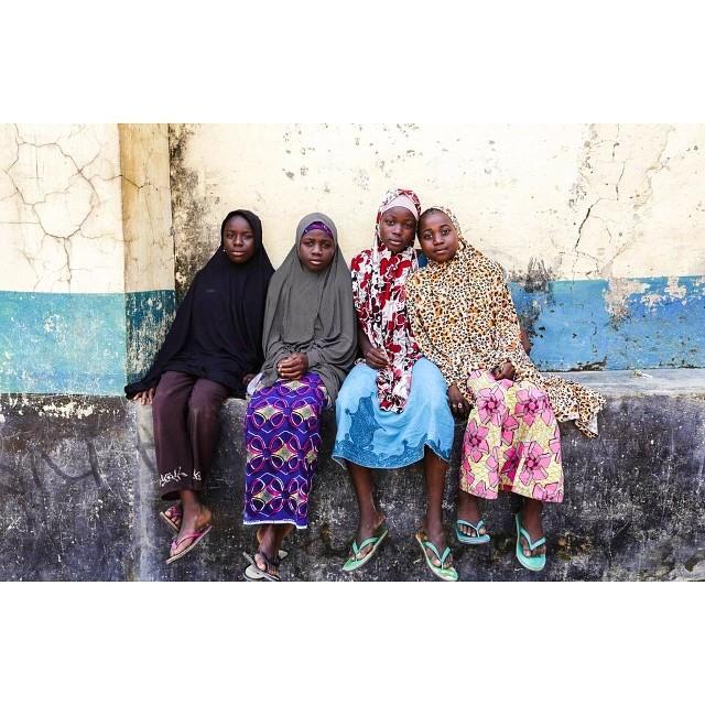 Girls outside a school in Suleja Nigera. Image Credit Tom Saater