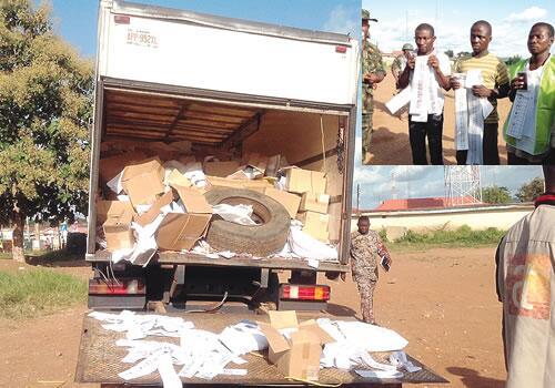 Fake Ekiti Voters Materials