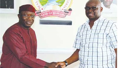 Image result for fayose and fayemi