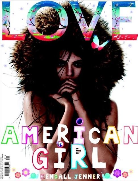 Kendall jenner magazine love