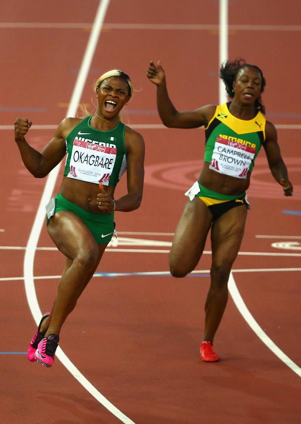 Nigeria's Blessing Okagbare Beats Jamaican Sprinter ...