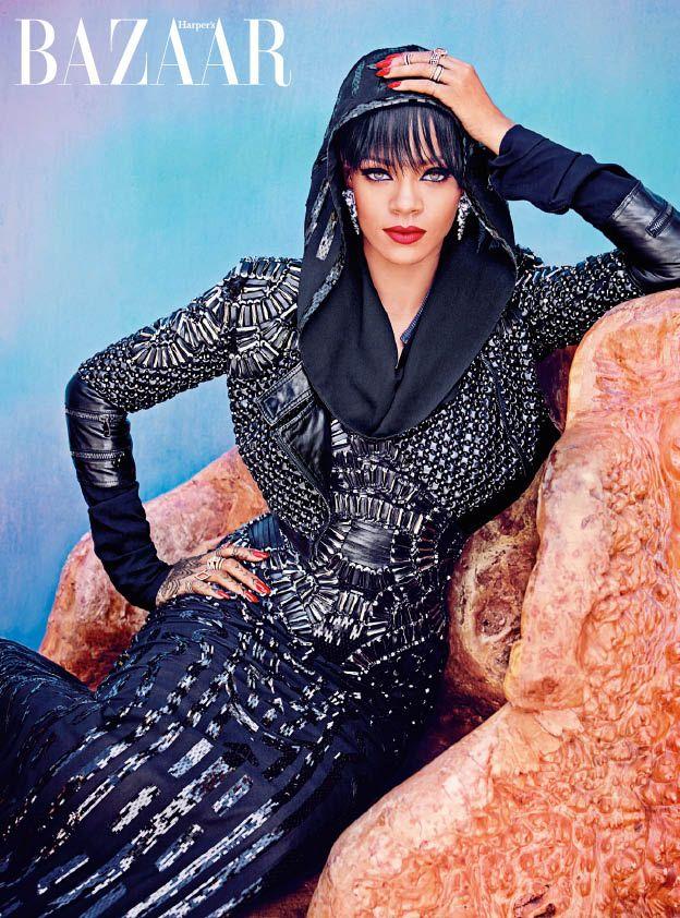 Rihanna Bazaar 2