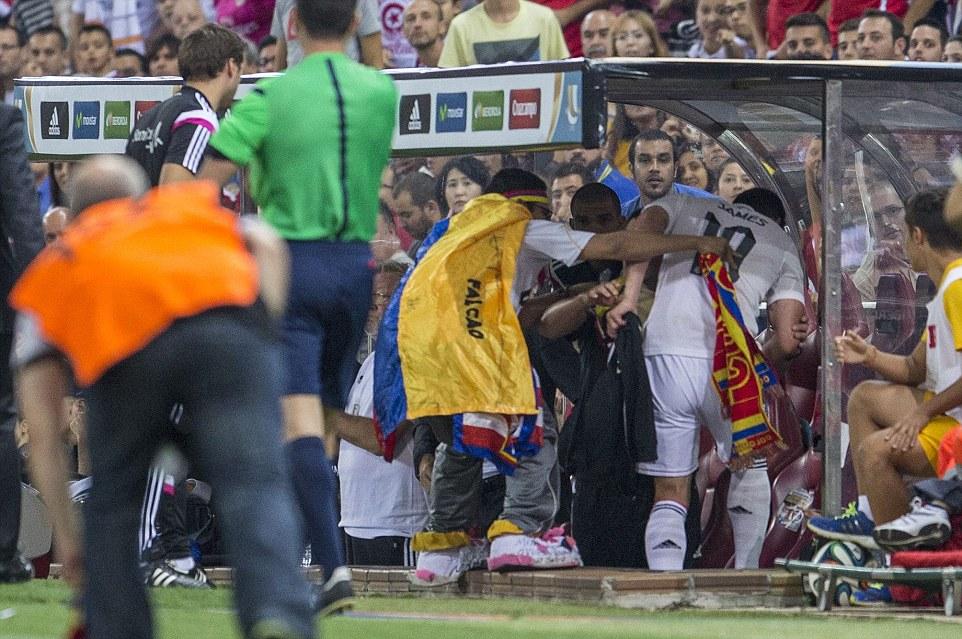 Spanish Super Cup 2014 Second Leg Atletico Madrid v Real Madrid Estadio Vicente Calderon, Madrid, Spain - 23 Aug 2014