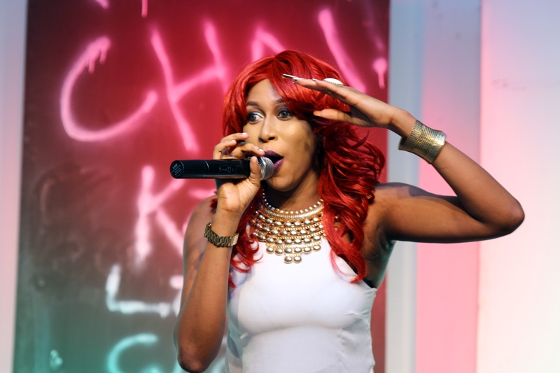 Cynthia Morgan thrilling