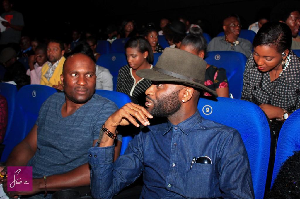 Shope Olajide and Ike Onuorah