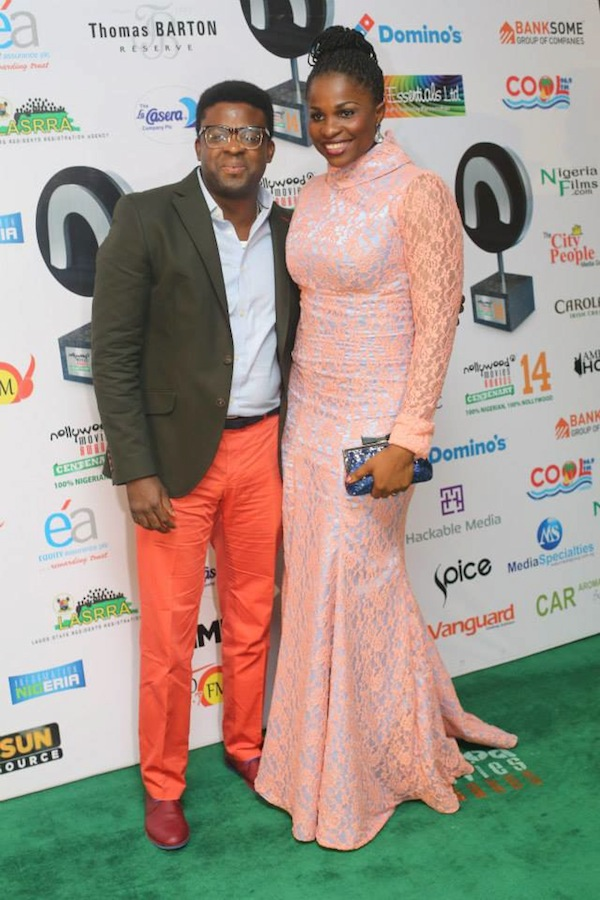 Kunle-Afolayan-and-Blessing