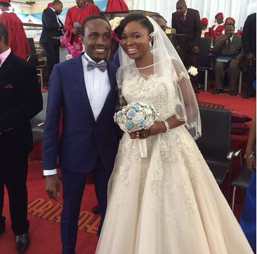 Kemitolu2014 first photos from kemi agboola's wedding to ace