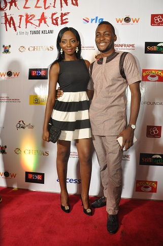 Ivie Okujaye and Tope Tedela