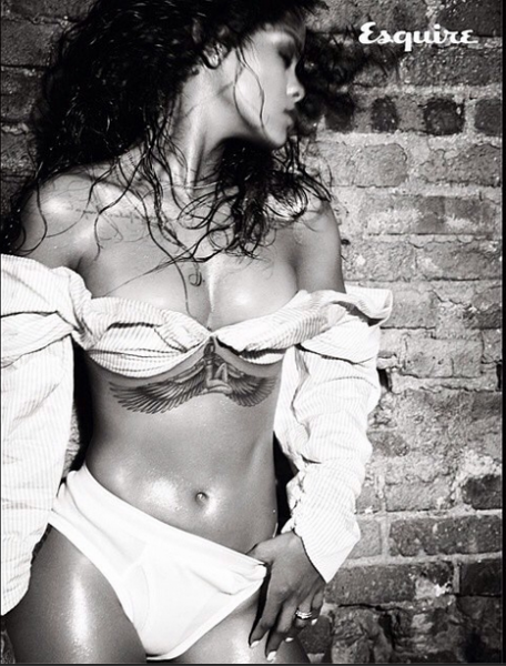 Rihanna-Instagram-Esquire-UK-December-2014-2-456x600