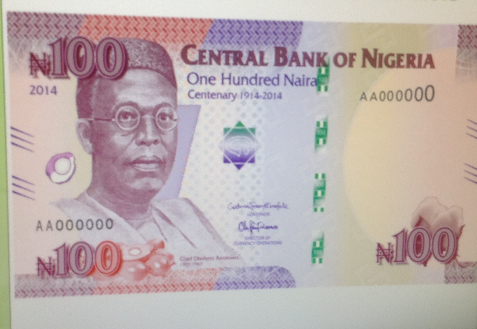 There Is No Jewish Symbol On The New 100 Naira Note Presidency