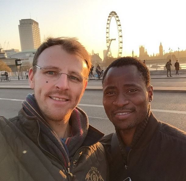 bisi Alimi and His Partner