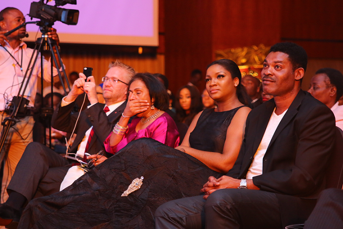 Omotola Jalade with hubby, Cpt Ekeinde