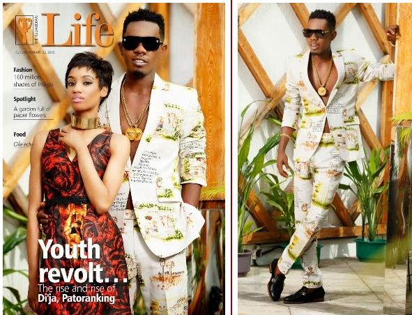 Mavin Act, Di'ja & Patoranking Cover 'Guardian Life Magazine'