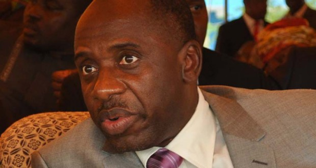 Channels TV Stops Amaechi's Verbal Attacks On Wike, On Live TV, For Breach Of Broadcast Code