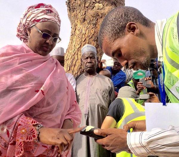 Buhari Wife Accredits