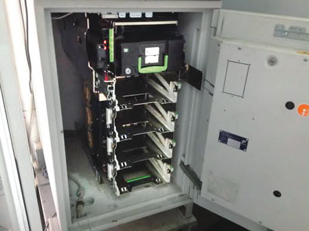 Looted-ATM