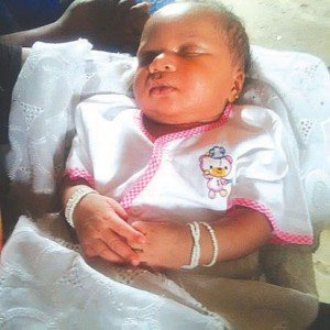 ASTONISHING! 52 Year Old Grandmother Delivers Baby Girl, That Came Clutching White Beads In Clenched Fists