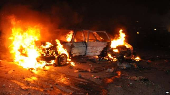 Bomb Explosion At The Internally Displaced Persons Camp In Adamawa