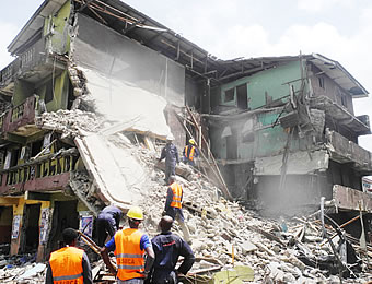 Image result for Another three-storey building collapses in Lagos