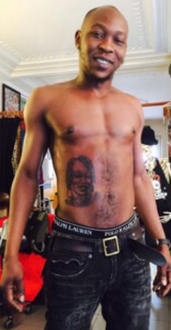 Seun Kuti Tattoo 2