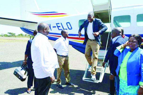 Former President Goodluck Jonathan & Wife Storm Kenya Games Reserves [Photos]