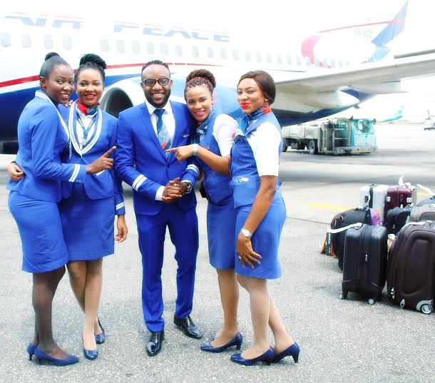 Kcee flight attendant 10