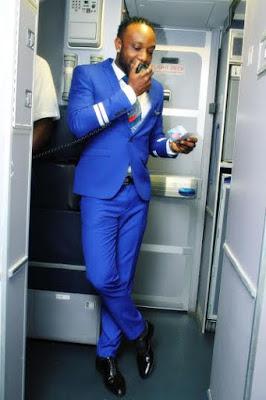 Kcee flight attendant 5