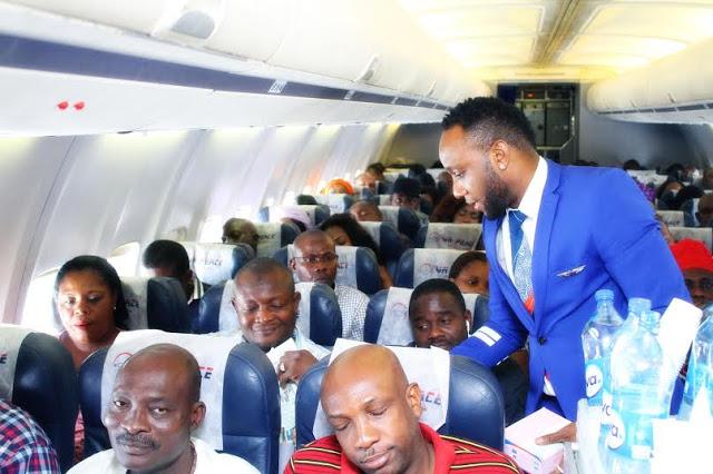Kcee flight attendant 8