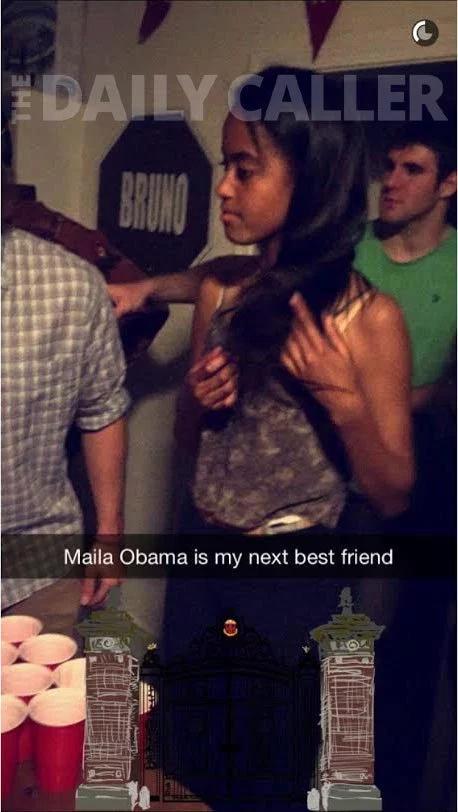 Malia playing pong