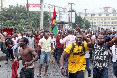 Radio biafra protest 3