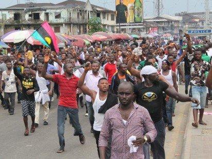 Radio biafra protest 4