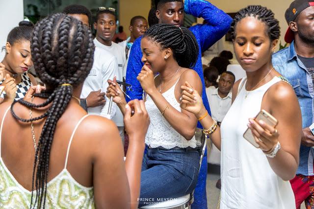 Iyanya Party 1