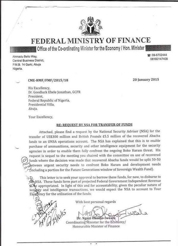 NOI Letter for NSA