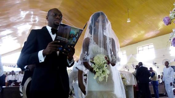 Okowa daughter weds 1